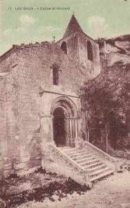 L'Eglise St-Vincent, Les Baux (Bouches-du-Rhône), France, 1900-1910s
