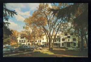 Williamstown, Massachusetts/MA/Mass Postcard, Williams Inn, Berkshires, 1950's?