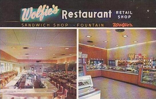 Florida St Petersburg Wolfie's Restaurant &  Fountain