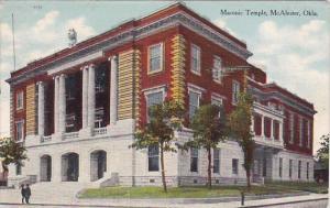Masonic Temple Mcalester Oklahoma 1910