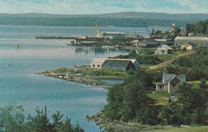 Pictou Waterfront looking from Golf Course, Nova Scotia, Canada, 40-60s