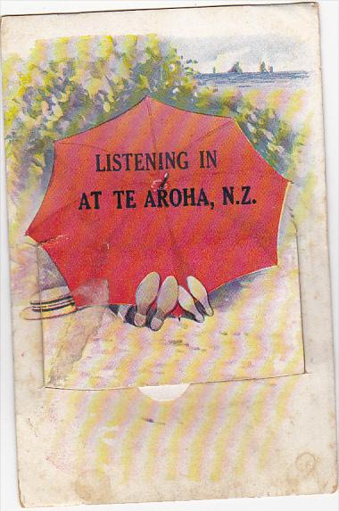 New Zealand Listening In At Te Aroha Fold Out Pocket