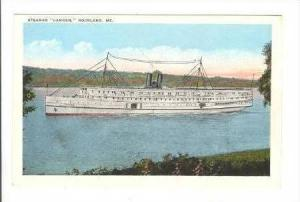Steamer  Camden  On The Water,Rockland,Maine,10-2 0s