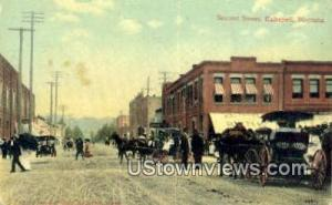 Second Street Kalispell MT Unused