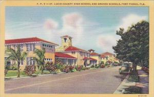 Saint Lucie County High School And Graded Schools Fort Pierce Florida