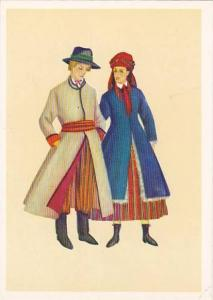 AS: Couple in Polish Costume, Irena Czarnecka, 10-20s