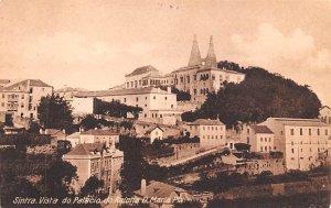 Vista do Palacio da Rainha D Maria Sintra Unused
