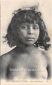 Jeune Mauresque Arab Nude Unused