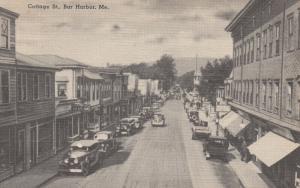 BAR HARBOR , Maine , 30-40s; Cottage Street