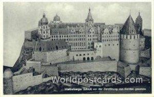 Zerstorung von Norden gesehen Heidelberger Scholb Germany Unused