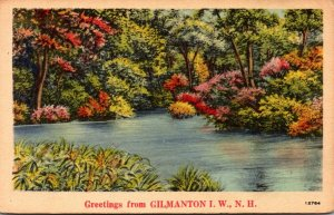 New Hampshire Greetings From Gilmanton