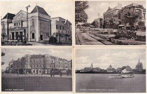 Szolnok Varosi Szinhaz Nerfeld Palota 4x Hungary Postcard s