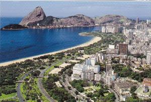 Brasil Rio De Janeiro Rj Air View Embankment Flamengo