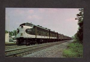 Southern Railroad Train Engine Locomotive No 6133 Railways Postcard
