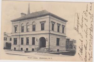 Thrall Library, MIDDLETOWN, New York, 1906