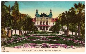Monaco Monte Carlo , Casino de Jardine