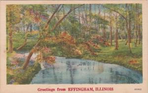 Illinois Greetings From Effingham