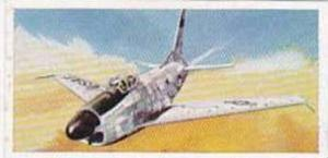 Lyons Tea Vintage Trade Card Wings Of Speed 1961 No 15 North American F-86 Sa...