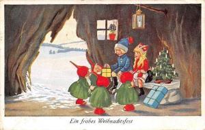 Ein frohes Weihnachtsfest, Christmas! Dwarfs, Gifts, Tree 1926