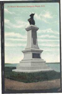 De Monts Monument, Annapolis Royal, NS Valentine & Sons PC