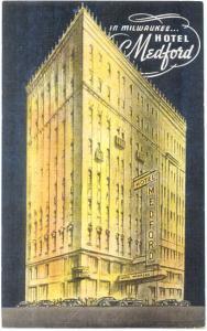 Hotel Medford, Milwaukee, Wisconsin, WI, Linen