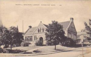 Morrill Memorial Library, Norwood, Massachusetts, PU-1941