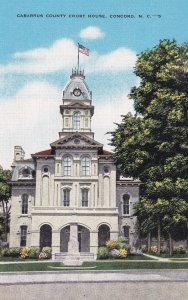 CONCORD, North Carolina, 1930-1940's; Cabarrus County Court House