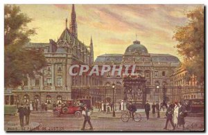 Old Postcard Paris Courthouse