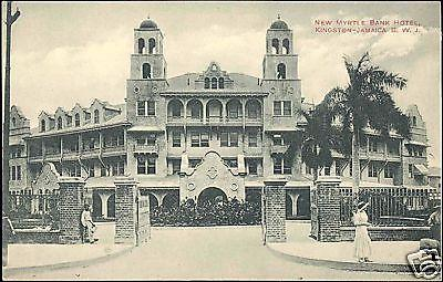 jamaica, B.W.I., KINGSTON, New Myrtle Bank Hotel 1910s