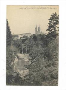 Echappee Sur La Ville, Vue Prise Du Bois Des Vignettes,  (Manche), France, 19...