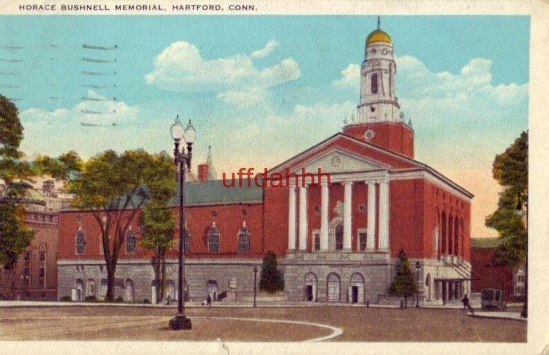 HORACE BUSHNELL MEMORIAL HARTFORD, CT 1934