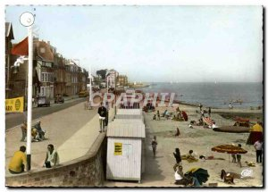 Modern Postcard Langrune La Digue and Plage L Bath Time