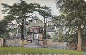 England Lea-Hurst Florence Nightingale's Balcony