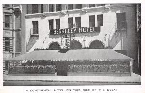 Montreal PQ Berkeley Continental Hotel~Champs Elyesees~Terrace~Sherbrooke 1940s