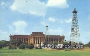 Oklahoma State Capitol Oklahoma City OK Unused