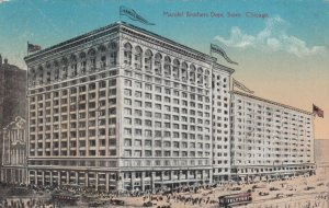 CHICAGO, Illinois, PU-1914; Mandel Brothers Dept. Store