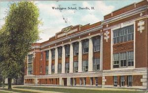 Washington School Danville Illinois 1909