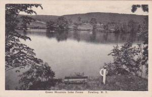 New York Pawling Green Mountain Lake Farms Albertype