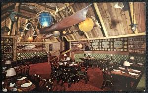 Postcard Unused Trader Vic's at Statler Hilton Boston MA LB