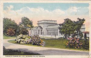 NIAGARA FALLS, Ontario, Canada, 1900-1910's; Toronto Power Co. Ltd.
