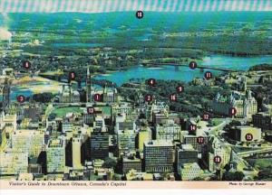 Canada Ottawa Downtown Aerial View & Visitors Guide
