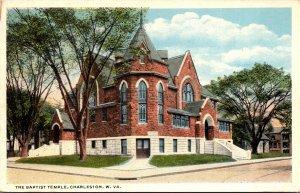 West Virginia Charleston The Baptist Temple 1916 Curteich