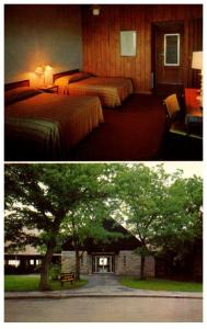 Virginia Shenandoah Nat. Park , Big Meadows Lodge and Guest Bedroom