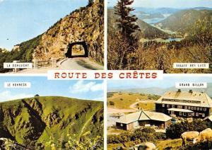 France Route des Cretes multiviews Vallee des Lacs La Schlucht Le Hohneck