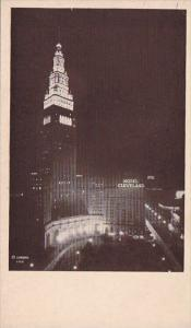 Hotel Cleveland The Termind Tower Adjoining Hotel Cleveland Is 708 Feet In He...