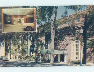 Pre-1980 INN SCENE Glens Falls - Lake George New York NY AE0329