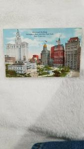 Municipal Building, Newspaper Row and City Hall Park, New York City