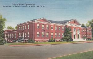 CHAPEL HILL, North Carolina, 30-40s: Woollen Gymnasium, University of North C...