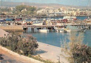 uk52548 paphos harbour cyprus real photo