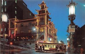 San Francisco, Chinatown after Dark, alleyways, alluring nightlife, cars auto